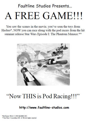 Now this is POD racing
