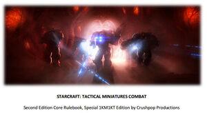 Starcraft Tactical Miniatures Combat
