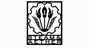 Steam and aether logosmall