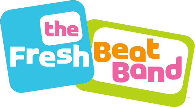 File:The Fresh Beat Band Logo.png