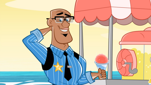 File:Fresh Beat Band of Spies Frozen Fresh Beats Commissioner Goldstar Snow Cone.png