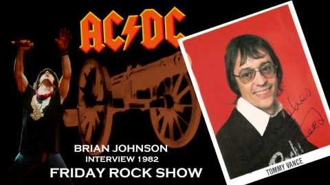 AC DC Interview Brian Johnson With Tommy Vance (Friday Rock Show 1982) HD