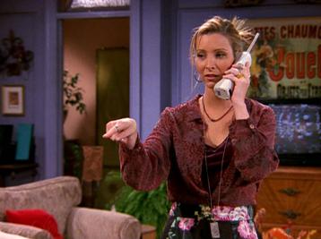 Phoebe on the Phone