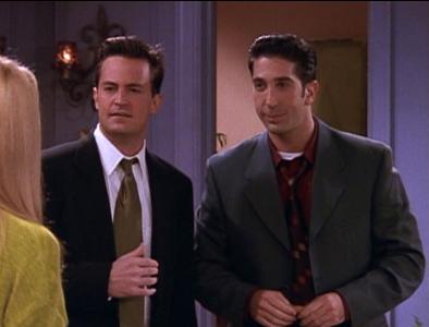 Chandler & Ross (4x09)