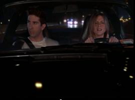 Ross & Rachel in the Car (7x22)