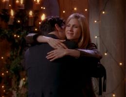 Rachel & Ross Hug (4x24)