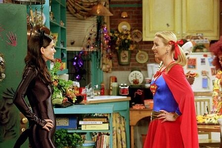 Phoebe and monica