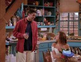 Rachel & Ross in the Apartment (1x01)