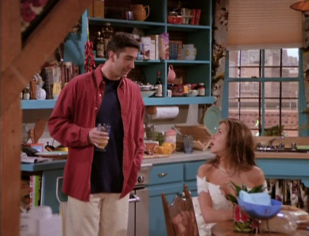 File:Rachel & Ross in the Apartment (1x01).png
