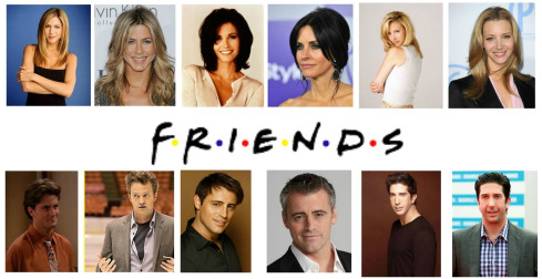 Friends Then And Now Image - Friends...