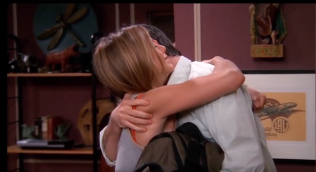 File:Rachel and Ross Hug - TOW Rachel Is Late.png