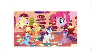 MLP Fim Colt Version