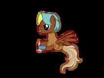 My transparent pony