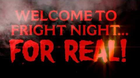 Welcome to Fright Night...For Real!