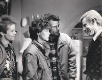 Fright Night 1985 Stephen Geoffreys Amanda Bearse Tom Holland Roddy McDowall