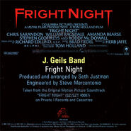 J Geils Band Fright Night 45 02