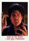 Topps Fright Flicks 36 Fright Night 1985 Chris Sarandon
