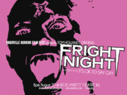 Fright Night Poster It's OK to Say Gay