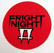 Fright Night Part 2 Promotional Button