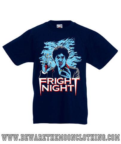 File:Beware the Moon Clothing Fright Night Kid's Navy Shirt - Front.jpg