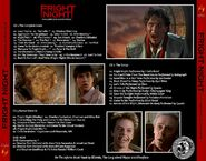 Fright Night - 25th Anniversary Edition - Back (Alt)