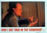 Topps Fright Flicks 55 Fright Night 1985 Chris Sarandon