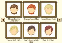 Female Hair 5