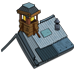 School house roof3 icon