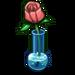 Pink Rose Vase-icon