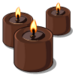 Chocolate Scented Candle-icon