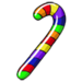 Rainbow Mini Cane-icon