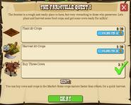 The FarmVille Quest 1