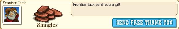 Frontier Jack Shingles