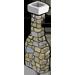 Cabin Stone Chimney-icon
