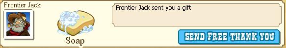 Frontier Jack Soap