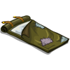 Green Bed Roll-icon