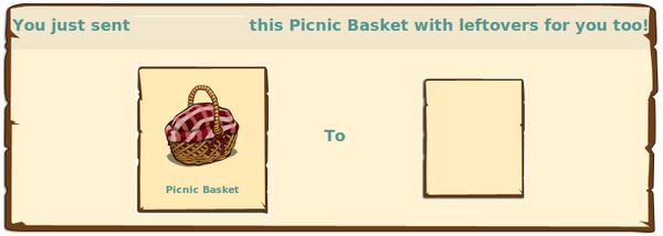 Picnic basket req