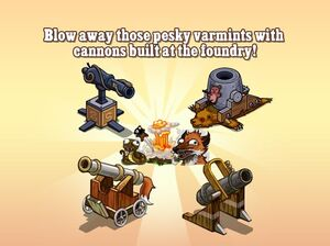 Varmint Cannons Loading Screen