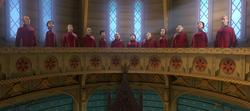 Choir singing