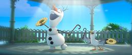 Olaf imagines summer