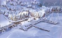 Frozen Arendelle concept art