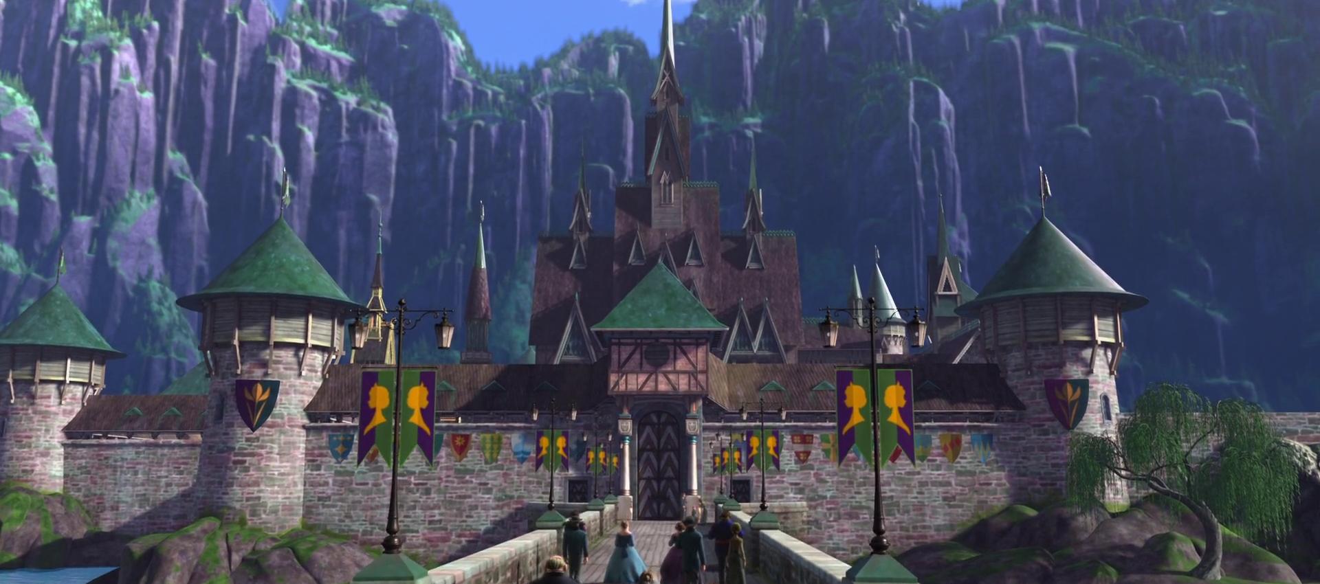 Castillo De Arendelle Wiki Frozen Fandom Powered By Wikia