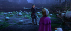 Kristoff introduces his family