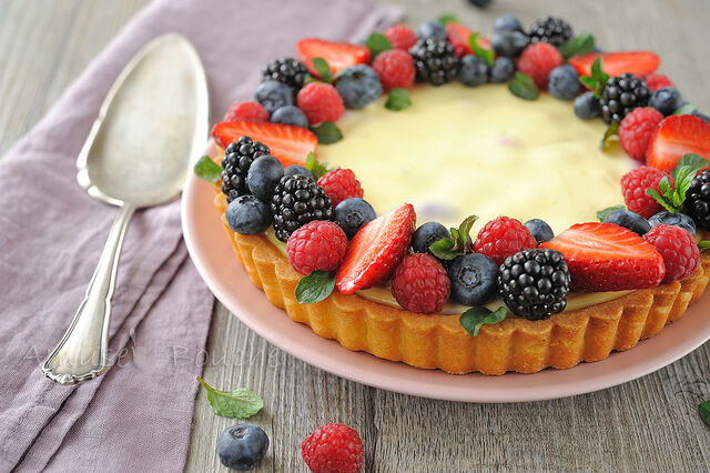 File:Tarte cheesecake et fruits rouges (14).jpg