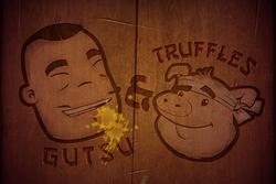 Gutsu and Truffles Background