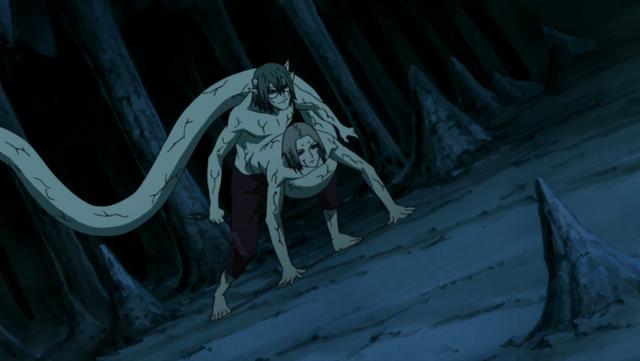 File:Kabuto using Kimimaro's powers.png