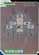 3a crew-less enemy ship right after gaining achievement