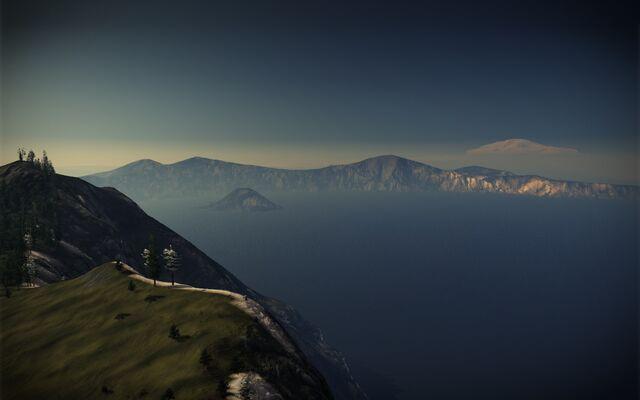 File:Rainier Peak from Big Caulrons Edge.jpg