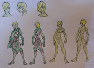 Seiji, Hobgoblin attire and Anatomy (censored)