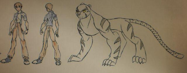 File:Kio Sambal, Casual attire and Beast Form.JPG